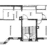 Grundriss Immobilie Wittgendorf 2-Raum Wohnung